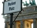 Jeden ze symbolů Brandenburská brána