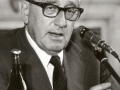 Politolog Henry Kissinger v Praze